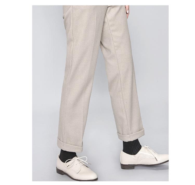 裤子卷边方法图解