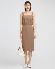 A-韩国IN-韩国时尚魅力方领设计休闲套装女装2017年07月26日夏季款