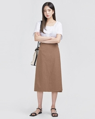 A-韩国IN-韩国方领时尚纯色韩国代购正品衬衫女装2017年08月02日08月款