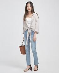 A-韩国IN-韩国系带时尚魅力韩国代购正品衬衫女装2017年08月02日08月款