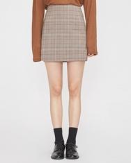 A-韩国IN-韩国格纹设计个性女性韩国代购正品短裙女装2017年08月14日08月款