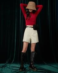 1区2017冬季新款韩国服装A-IN品牌搭配魅力时尚短裤(2017.11月)