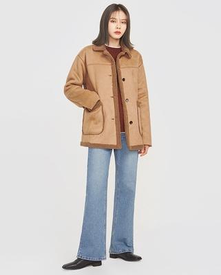 A-IN-冬季女性时尚流行夹克