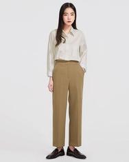 2018新款韩国服装A-IN品牌纯色时尚魅力衬衫(2018.1月)