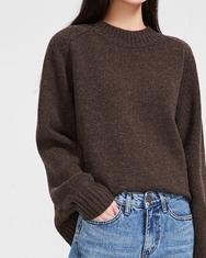 2018新款韩国服装A-IN品牌时尚冬季纯色简约针织衫(2018.1月)