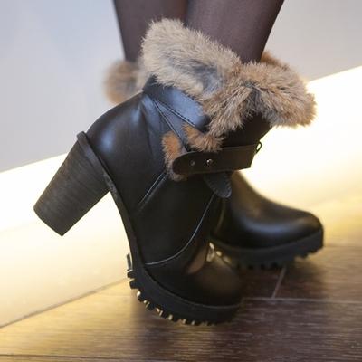아루키-제이래빗shu안감 토끼털로 한겨울에도 따뜻하게!!