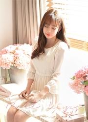 1区韩国代购正品验证attrangs-AGOP00761795-淑女甜美修身连衣裙