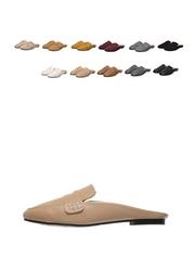 1区2017冬季新款韩国服装attrangs品牌女士独特个性简约拖鞋(2017.11月)
