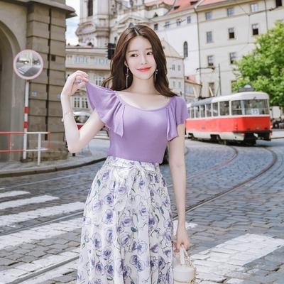 1区韩国本土服装代购(韩国圆通直发)attrangs-纯色魅力时尚针织衫(2018-07-12上架)
