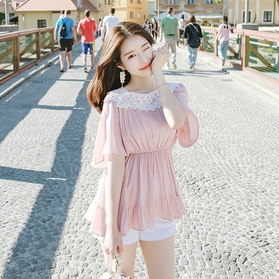 1区韩国本土服装代购(韩国圆通直发)attrangs-衬衫(2018-07-14上架)