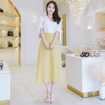 1区韩国本土服装代购(韩国圆通直发)attrangs-长裙(2018-07-14上架)