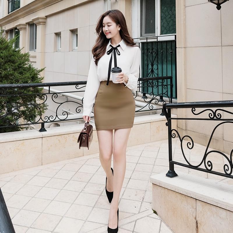 1区韩国本土服装代购(韩国圆通直发)attrangs-短裙(2018-09-24上架)