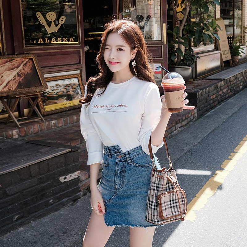 1区韩国本土服装代购(韩国圆通直发)attrangs-T恤(2018-09-24上架)