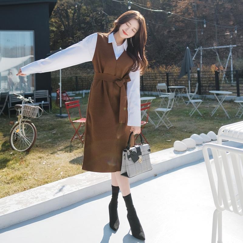 1区韩国本土服装代购(韩国圆通直发)attrangs-连衣裙(2018-11-14上架)