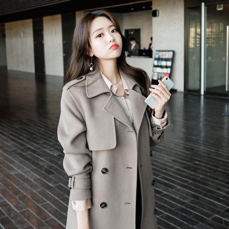 1区韩国本土服装代购(韩国圆通直发)attrangs-大衣(2018-11-15上架)
