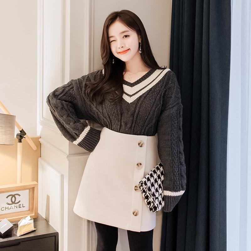 1区韩国本土服装代购(韩国圆通直发)attrangs-针织衫(2018-11-16上架)