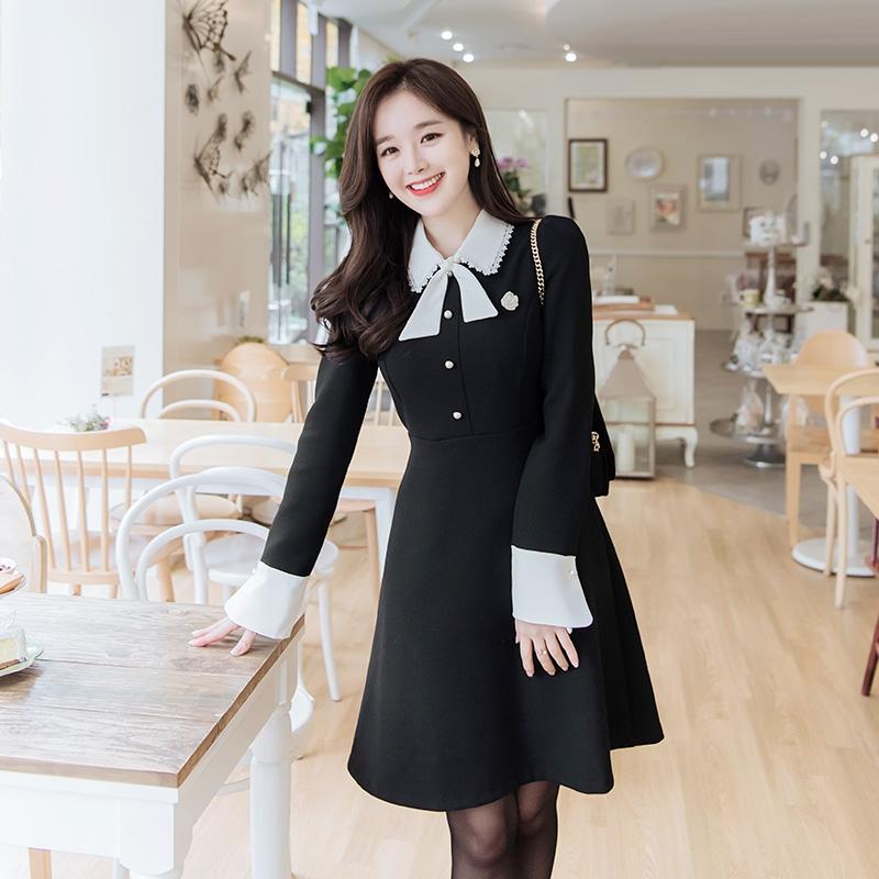 1区韩国本土服装代购(韩国圆通直发)attrangs-连衣裙(2018-11-16上架)