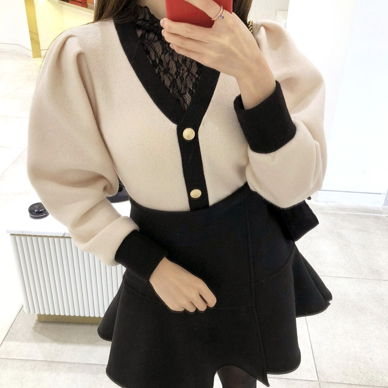 1区韩国本土服装代购(韩国圆通直发)attrangs-开襟衫(2018-11-20上架)