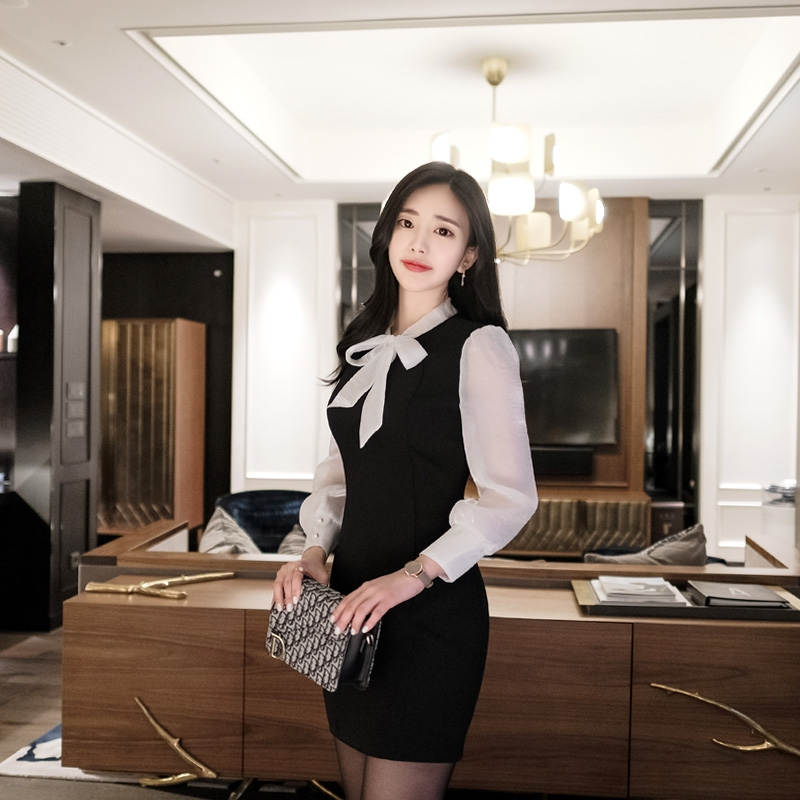 1区韩国本土服装代购(韩国圆通直发)attrangs-连衣裙(2019-01-15上架)