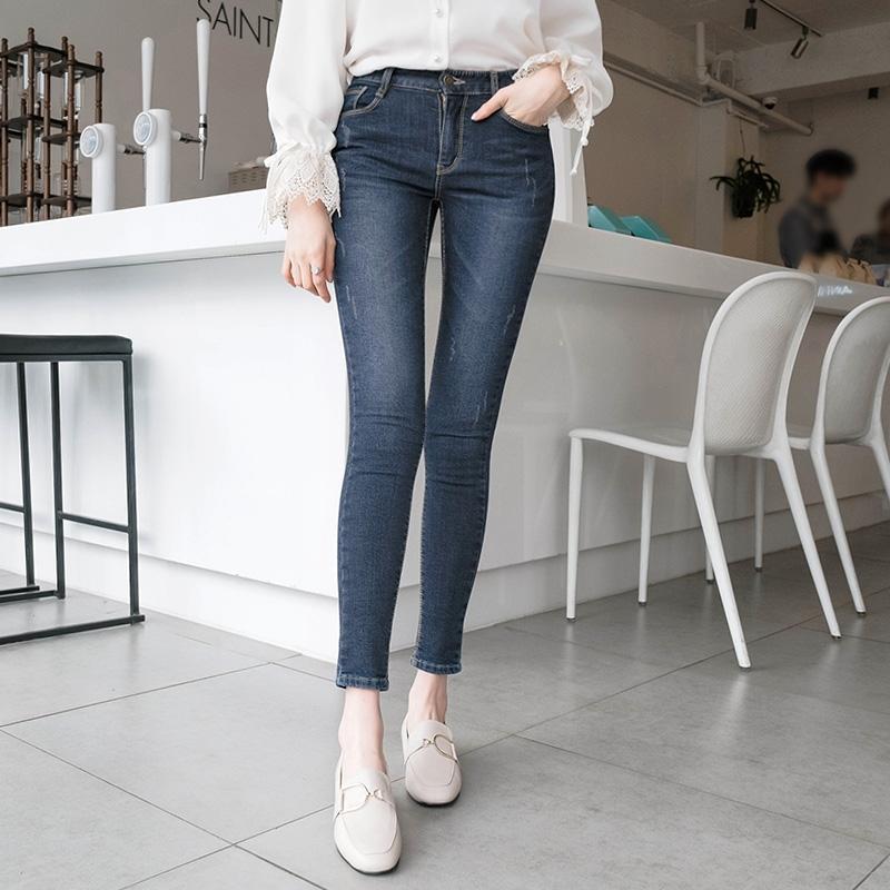 1区韩国本土服装代购(韩国圆通直发)attrangs-牛仔裤(2019-01-15上架)