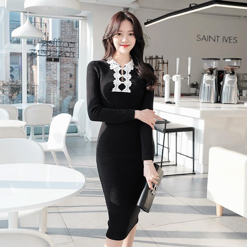 1区韩国本土服装代购(韩国圆通直发)attrangs-连衣裙(2019-01-16上架)