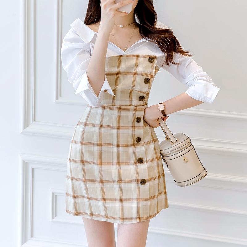 1区韩国本土服装代购(韩国圆通直发)attrangs-连衣裙(2019-03-20上架)