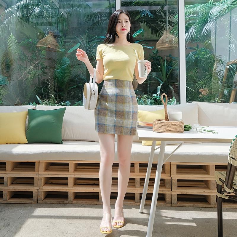 1区100%正宗韩国官网代购(韩国直发包国际运费)attrangs-短裙(2019-06-26上架)