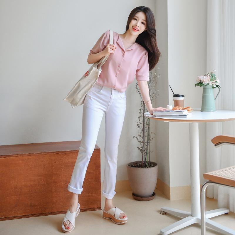 1区100%正宗韩国官网代购(韩国直发包国际运费)attrangs-长裤(2019-06-27上架)