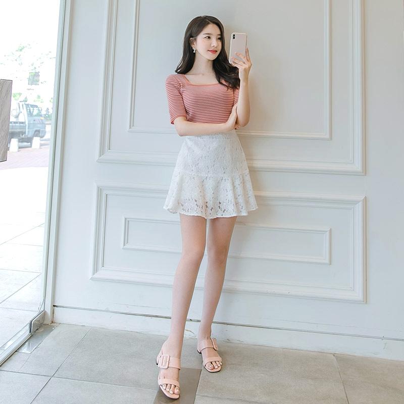 1区100%正宗韩国官网代购(韩国直发包国际运费)attrangs-短裙(2019-06-27上架)