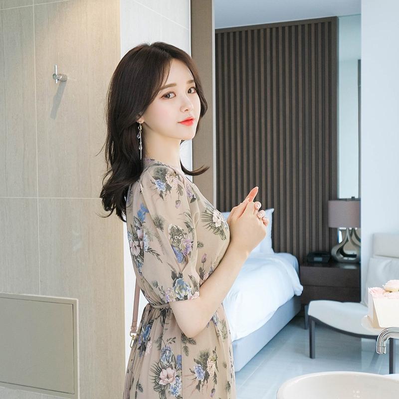 1区100%正宗韩国官网代购(韩国直发包国际运费)attrangs-连衣裙(2019-07-19上架)