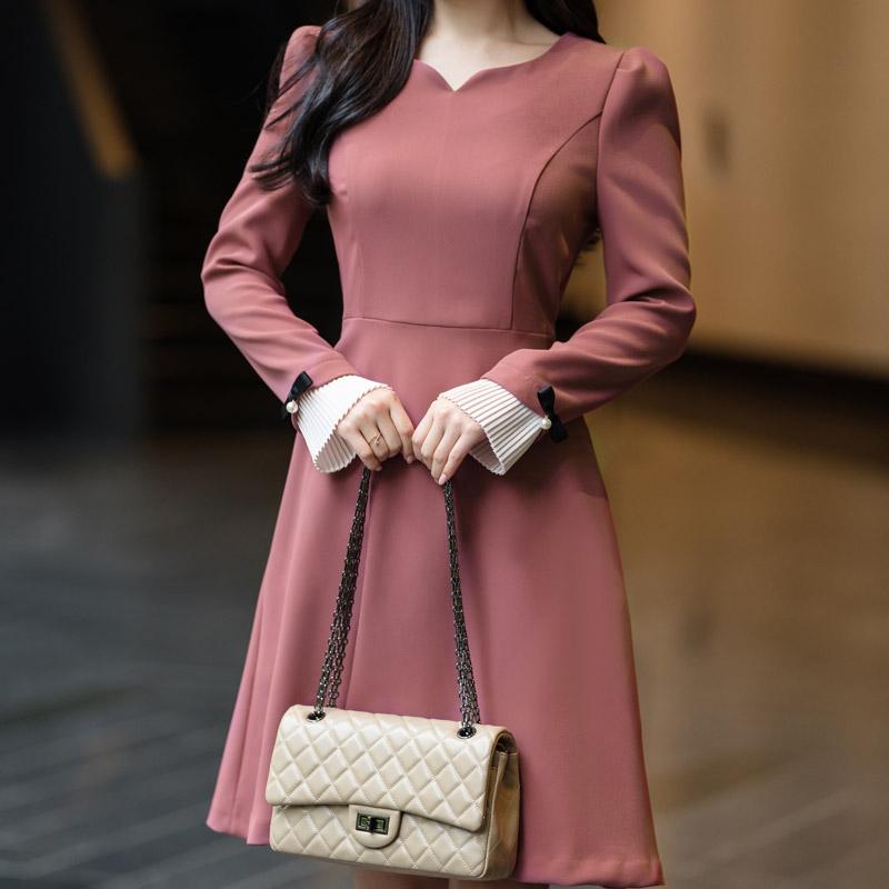 1區100%正宗韓國官網代購(韓國直發包國際運費)attrangs-連衣裙(2019-10-20上架)