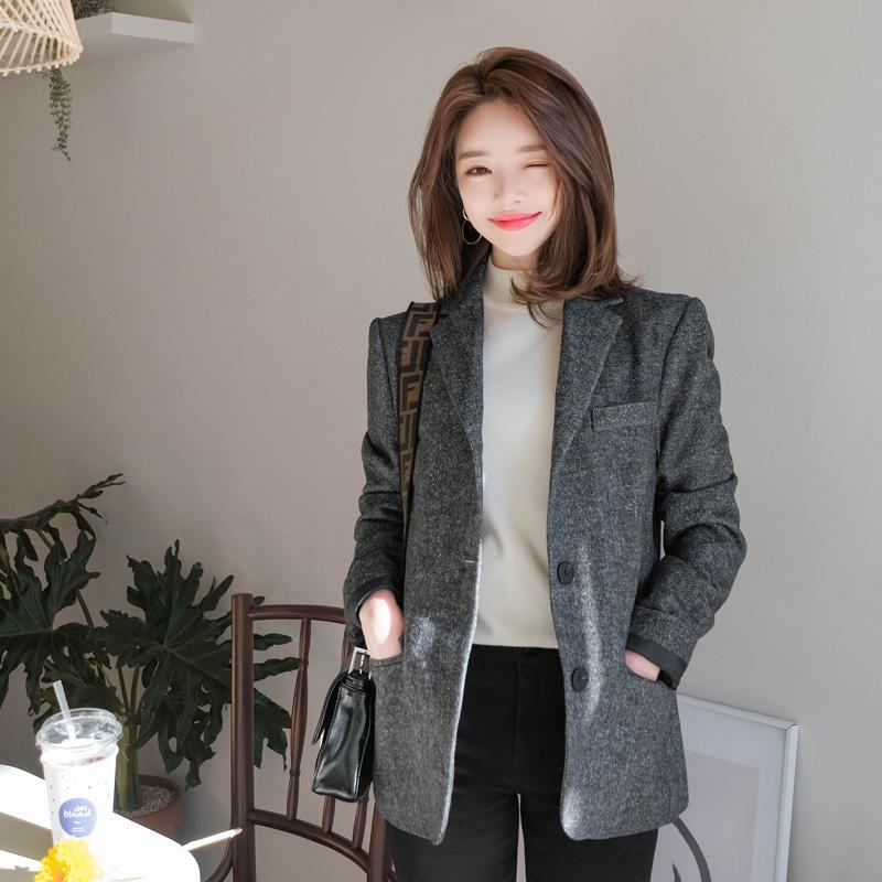 韩国服装多少钱正宗韩国官网代购韩国直发包国际运费attrangs夹克