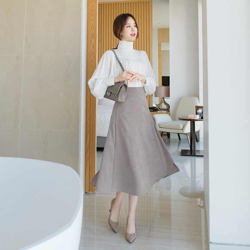 1区100%正宗韩国官网代购(韩国直发包国际运费)attrangs-长裙(2020-01-14上架)