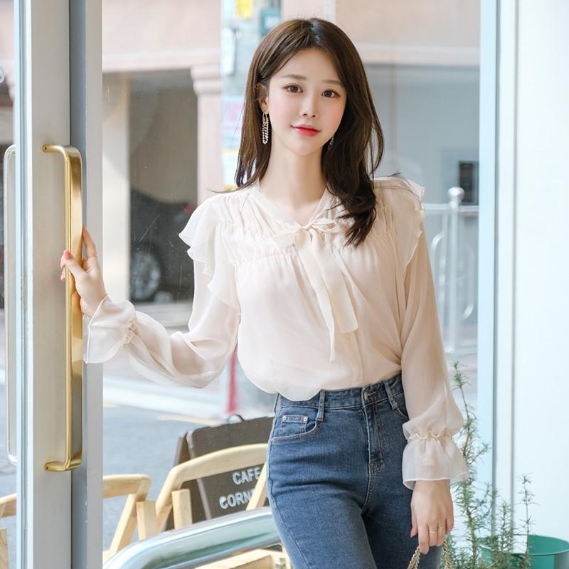 1区100%正宗韩国官网代购(韩国直发包国际运费)attrangs-衬衫(2020-02-06上架)