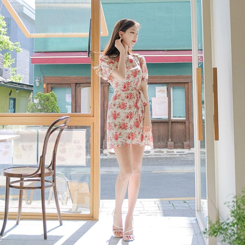 1区100%正宗韩国官网代购(韩国直发包国际运费)attrangs-连衣裙(2020-05-18上架)