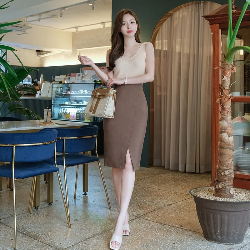 1区100%正宗韩国官网代购(韩国直发包国际运费)attrangs-长裙(2020-07-04上架)