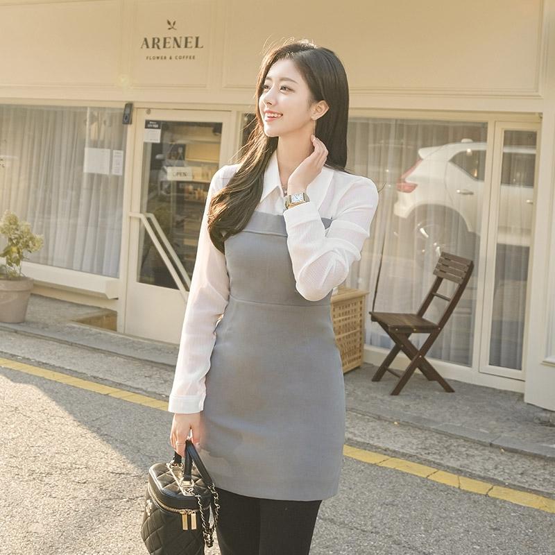 1区100%正宗韩国官网代购(韩国直发包国际运费)attrangs-连衣裙(2020-11-26上架)