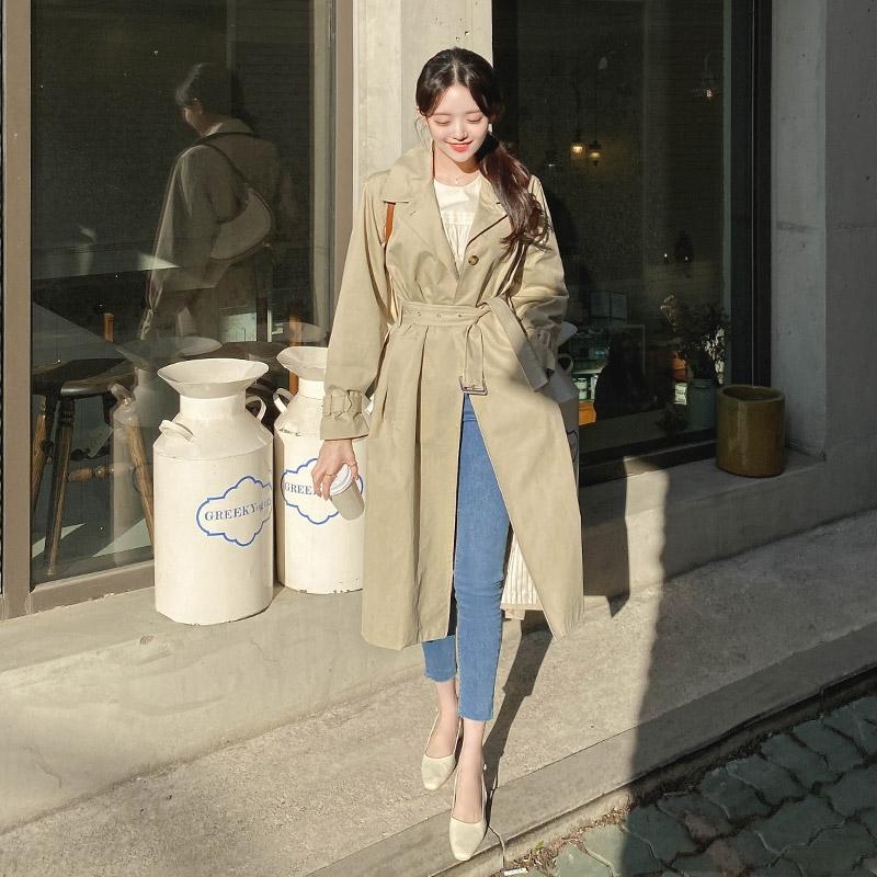 1区100%正宗韩国官网代购(韩国直发包国际运费)attrangs-大衣(2021-03-24上架)