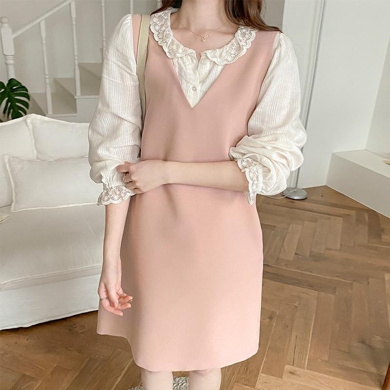 1区100%正宗韩国官网代购(韩国直发包国际运费)attrangs-连衣裙(2021-03-24上架)