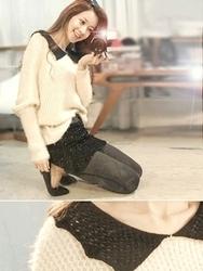 1区韩国代购正品验证attystory-ATKN00755973-明朗魅力韩版新款针织衫