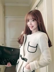 1区韩国代购正品验证attystory-ATCT00831144-大方美丽韩版新款大衣