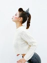 1区韩国代购正品验证aura-j-AJKN00766460-个性短款简单舒适百搭针织衫