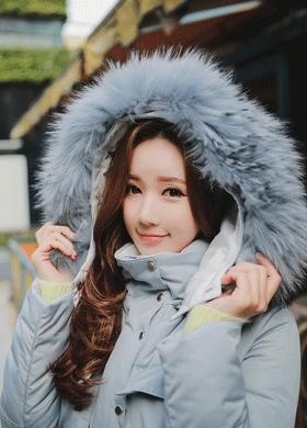 1区韩国本土服装代购(韩国圆通直发)babinpumkin-暖和魅力女性棉服(本商品非新品请联系客服核对再下单-27上架)