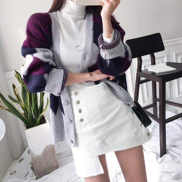1区韩国本土服装代购(韩国圆通直发)babinpumkin-开襟衫(2018-11-20上架)