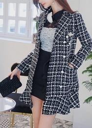 2018新款韩国服装babinpumkin品牌高档冬季时尚夹克连衣裙(2018.1月)
