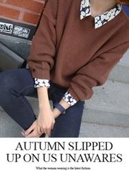 1区韩国代购正品验证babirolen-BAKN00765239-舒适简单新款百搭时尚针织衫