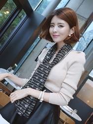 1区韩国代购正品验证babirolen-BAKN00766278-淑女甜美舒适百搭针织衫