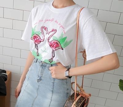1区韩国本土服装代购(韩国圆通直发)babirolen-纯色个性韩版T恤(2018-07-12上架)