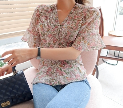 1区韩国本土服装代购(韩国圆通直发)babirolen-衬衫(2018-07-14上架)