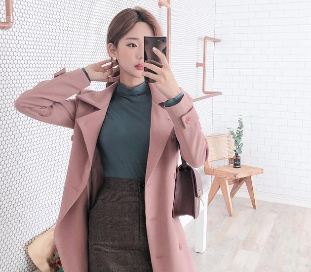 1区韩国本土服装代购(韩国圆通直发)babirolen-大衣(2018-09-24上架)